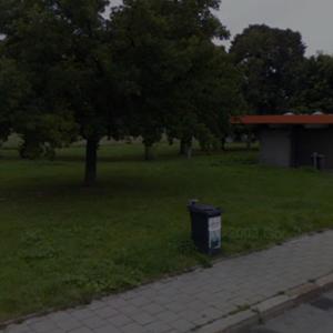 Parkplatz A8 München-Obermenzing Autobahnende
