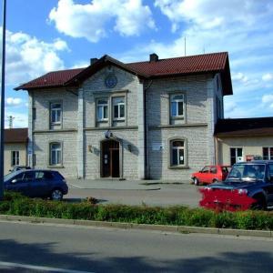 Parkplatz am Bahnhof Parsberg