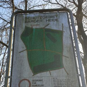 Naturschutzgebiet Barger Heide