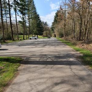 Parkplatz in Donsbrüggen