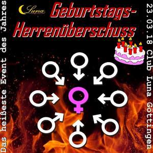 Geburtstags-Herrenüberschuss