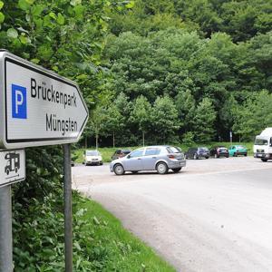 Müngstener Brückenparkplatz