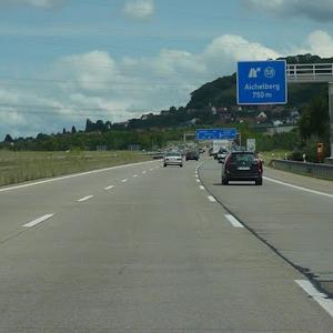 Autobahnausfahrt Aichelberg von Stuttgart
